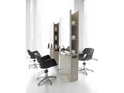 Poste de coiffage Renov 2 places