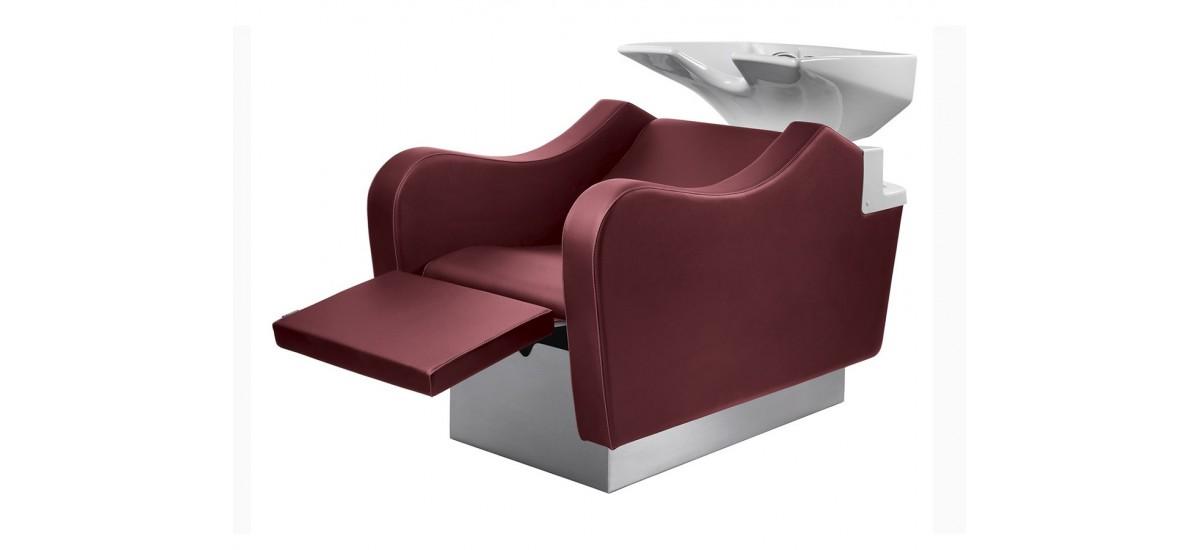 Bac de lavage + Repose jambes Hop + massage