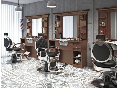 Pack salons Retro Barber