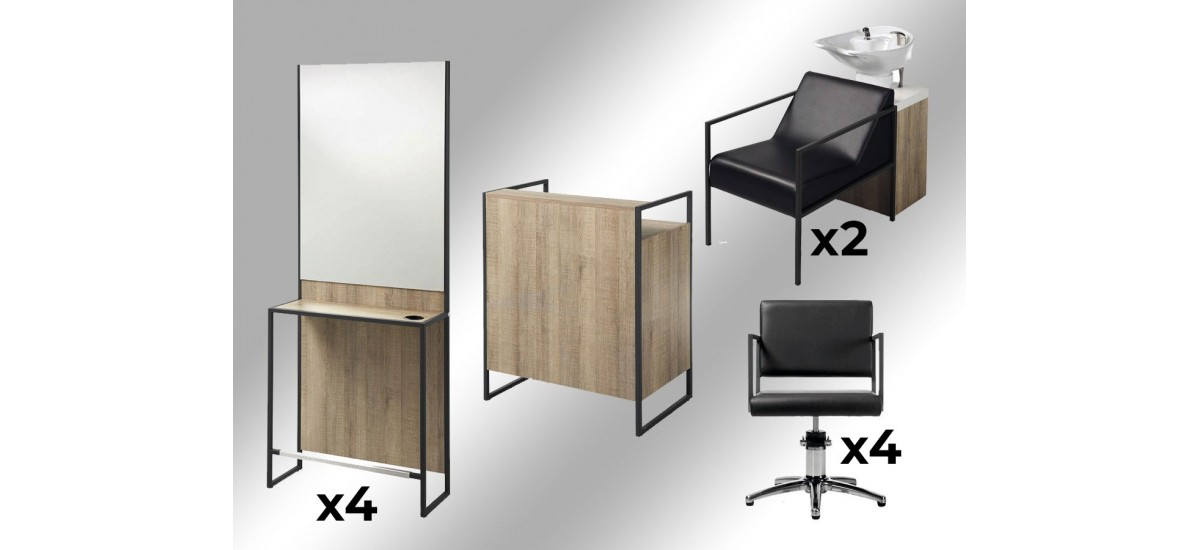 Pack salons Ambiance Mila