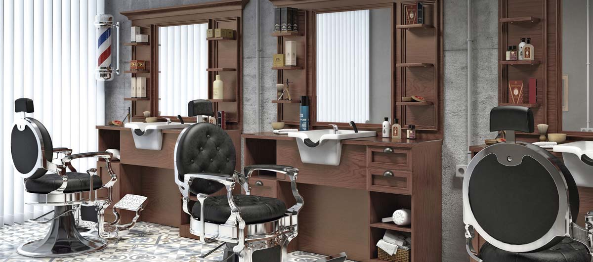 Deco barber shop
