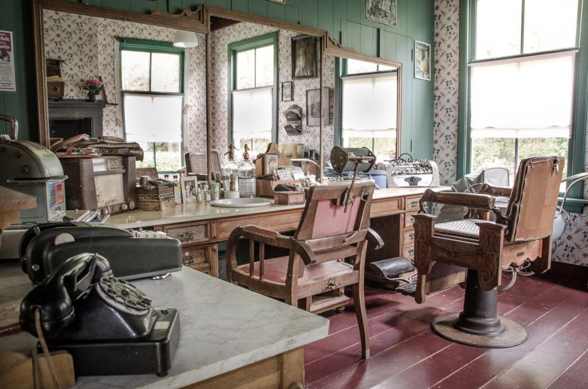 Amazing Mobilier Salon De Coiffure Vintage